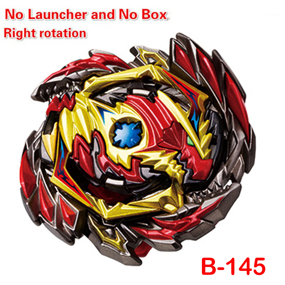 New Style Bayblade Bay Blade Tops Launchers <font><b>Beyblade</b></font> <font><b>Burst</b></font> Toys B144 B145 Bables Fafnir Metal Spinning Top Bey Blade Blades Toy image