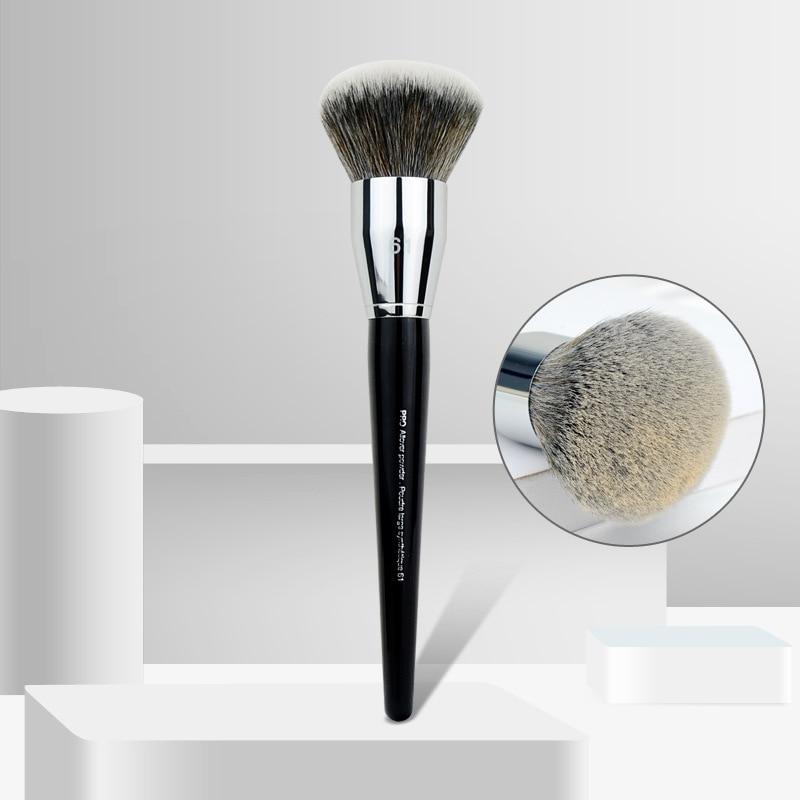 61# Big Blush Brushes Allover Powder Brush Profession Blusher Make up Large Powder Makeup Brushes High Quality Cosmetic Tools