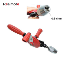 Realmote Hand Shake Drill Woodworking Model Punching Miniature Teaching Instrument Matching Handmade Tools