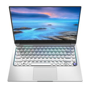 16G RAM 3867U Metal Laptop Retro Round Keyboard Notebook 14 Inch Mini Business Office Portable PC Computer Student SSD Netbook