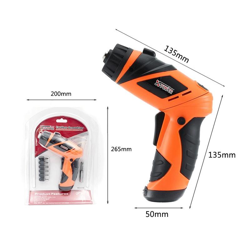 Destornillador de mano Destornillador eléctrico inalámbrico de 6 V - Herramientas eléctricas - foto 6