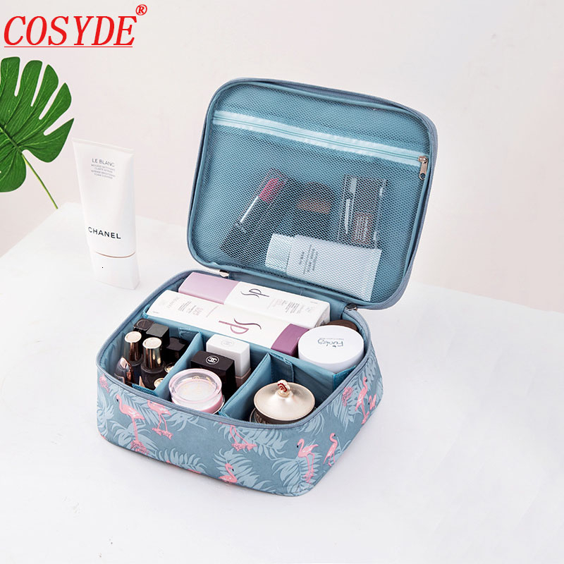 Fashion Travel Makeup Bag Waterproof Women Cosmetic Bag Organizer Beautician Storage Bags For Make Up Portable Necessity Beauty