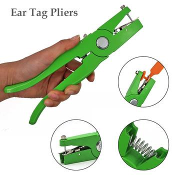High-quality Aluminum Alloy, Ear Tag Plier Applicator Puncher Tagger For Livestock Sheep Hog Cattle Beef Cow image