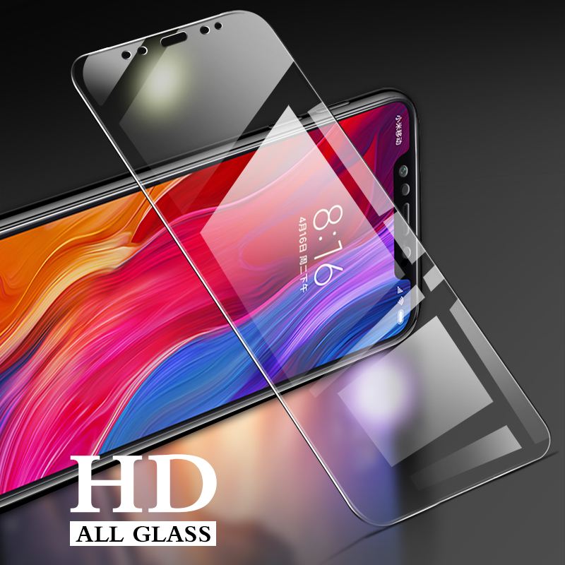 Image 5 - 3Pcs Protective Glass For Xiaomi Mi 9 8 SE 8 Lite Temepred Glass on The For Mi 9 9T Pro A2 lite A1 Pocophone F1 MAX 3 2 Glass-in Phone Screen Protectors from Cellphones & Telecommunications