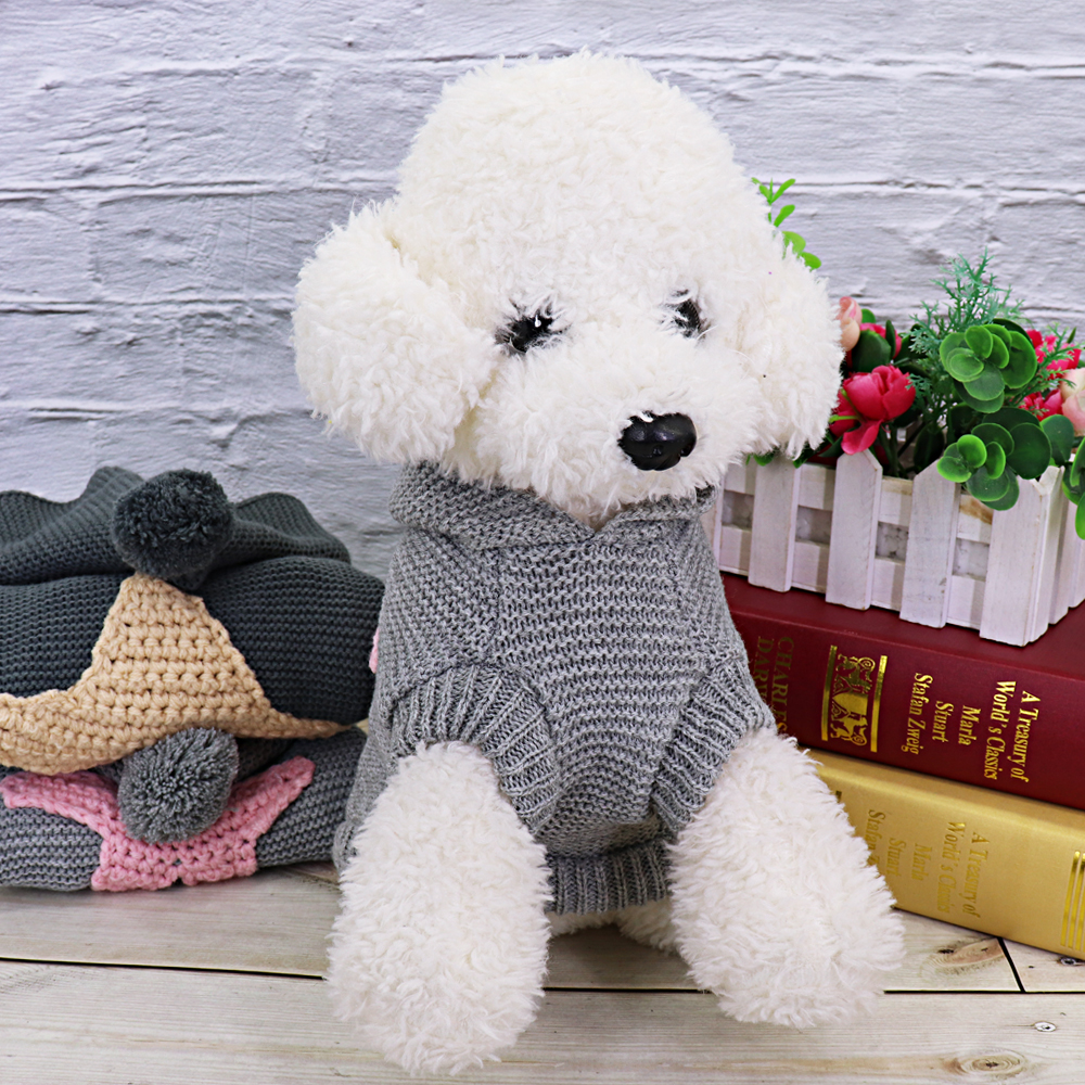 Warm Pet Cat Clothes Winter Cat Dog Coat Jacket Pet Puppy Sweater Hoodies For Small Medium Dogs Cats Chihuahua Yorkies Clothes 8