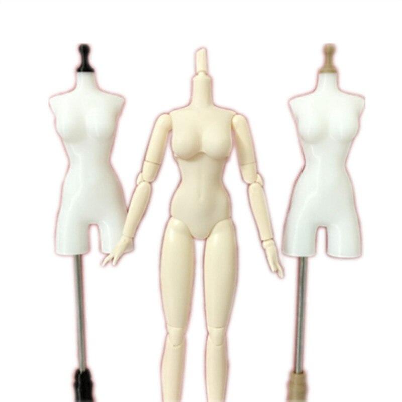 Poupée vêtements bricolage accessoires vêtements stand TPU caoutchouc peut aiguilles d'acupuncture-OBiTSU BODY27_M