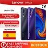 Глобальная версия Lenovo Z5s Snapdragon 710 Octa Core 128 Гб Смартфон Face ID 6,3 AI тройной камера заднего вида для Android P мобильного телефона