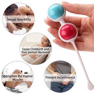 Image 3 - 3 adet/takım Kegel topları kadınlar için seks oyuncakları vajina sıkın egzersiz çin topları kadınlar için Ben Wa topları vajinal topları geyşa top