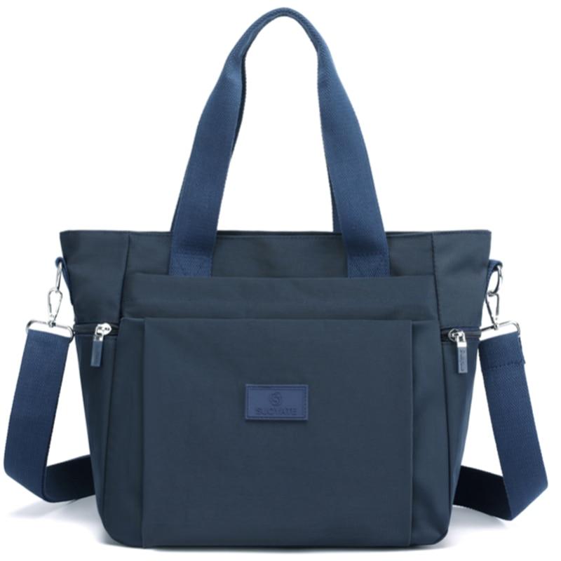 Womens Hand bags Designers Luxury Handbags Women Nylon Shoulder Bags Female Top-handle Bags Fashion Brand Handbags