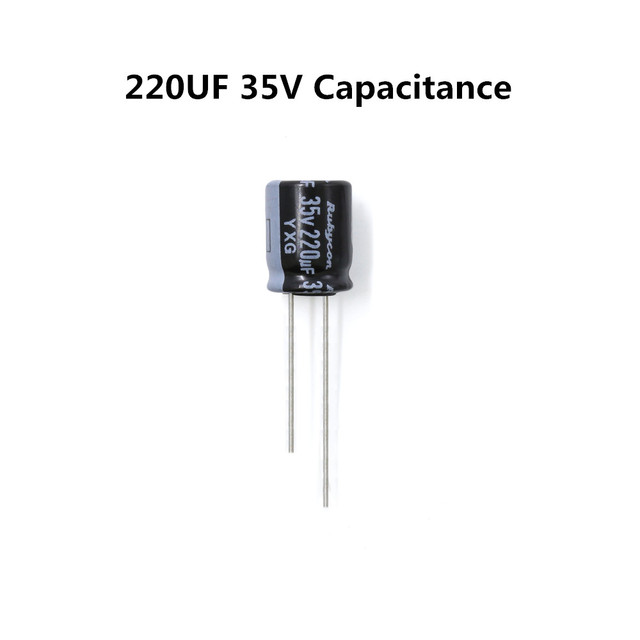 Low Impedance Capacitor 220uF 35V