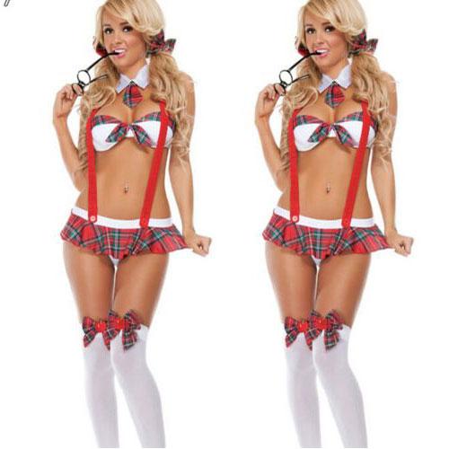 H16450f656bb0441e99bd995c096bc8c0M Nueva moda Cosplay disfraces mujer chica disfraz lencería Sexy uniforme de sofisticado disfraz de Halloween vestido