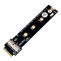 Pcie ssd para m.2 chave m adaptador de cartão para 2013/14/15/16/17 macbook ar pro retina conversor de disco rígido|null| |  -