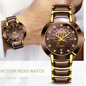 Men Watches Clock Di...