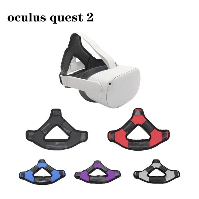 VR קסדת ראש להקלת לחץ רצועת קצף Pad עבור צוהר Quest 2 VR אוזניות Dropshipping