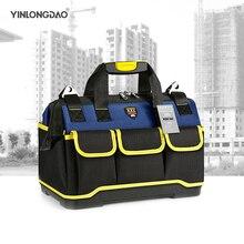 Sac à outils pour électricien Portable, sac de réparation multifonction, sac à outils Large et épais, pochette de travail