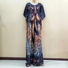 2019 جديد الأفريقي قصيرة الأكمام فستان طويل فساتين Dashiki الأفريقية للنساء حجم كبير ملابس ماما