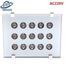 Cctv камера заполняющий светильник ac 220v 15 шт инфракрасный