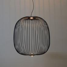 Modern Nordic Foscarini Spokes Pendant Lights Dimming Iron B