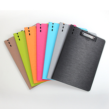 Horizontal A4 Vertical file Folder Matte Texture Portable Tray Office Metting File Pocket Office School Supplies  writing pad