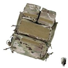 Tactical-Pouch-Bag Vest Zip-Panel TMC W/mag-Pouch Molle-Bags Ng-Version for AVS JPC2.0