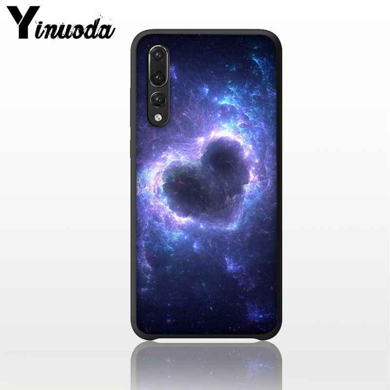 Yinuoda púrpura Espacio Estrella Coque funda del teléfono para Huawei Mate10 20 Lite P20 Pro P10 más Honor 9 10 10i y7 Y6PRO 2019 cubierta móvil