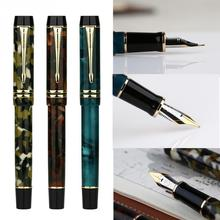 Moonman M600S Practise Device Double Color Vacuum Filling Iridium Fine Nib Office Home Gifts Fountain Pen Stationery Smooth Ink