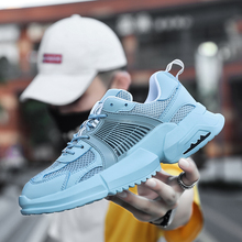 Men pure color Mesh Casual Shoes Harajuku man Lac-up Lightweight Comfortable sneakers Breathable Walking sport shoes dad shoes yjrvfine wonderful meteor shower men casual shoes walking comfortable breathable unisex canvas pure hand painted shoes r1029m