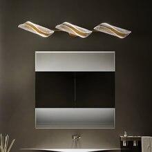 Fanpinfando современное светодиодное освещение зеркала в ванной