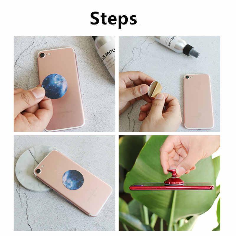 Placa de hierro de Metal de 38*0,5mm para imán, soporte de teléfono móvil, Porta Teléfono, soporte de teléfono para Coche magnético