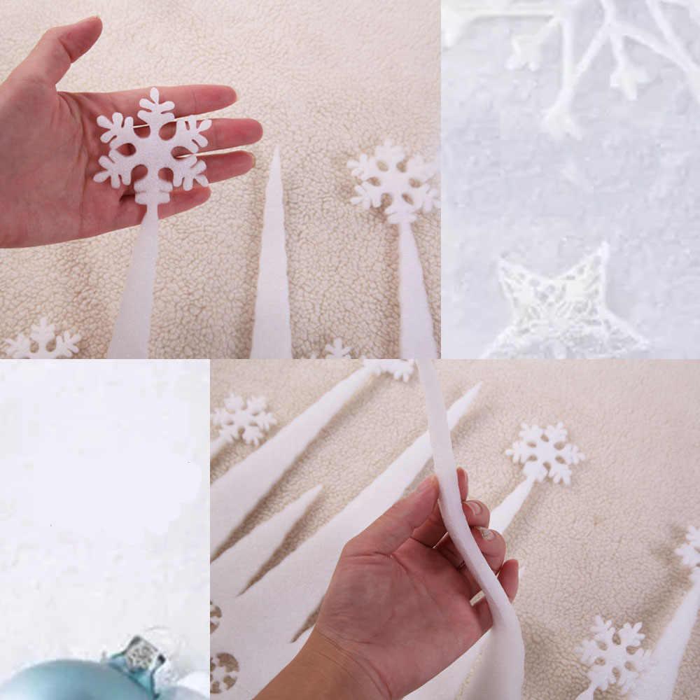 2 قطعة/الوحدة عيد الميلاد رغوة ندفة الثلج المجمدة الديكور الجليد قطاع ندفة الثلج عيد الميلاد الديكور للمنزل الشتاء ديكور حفلات الدعائم