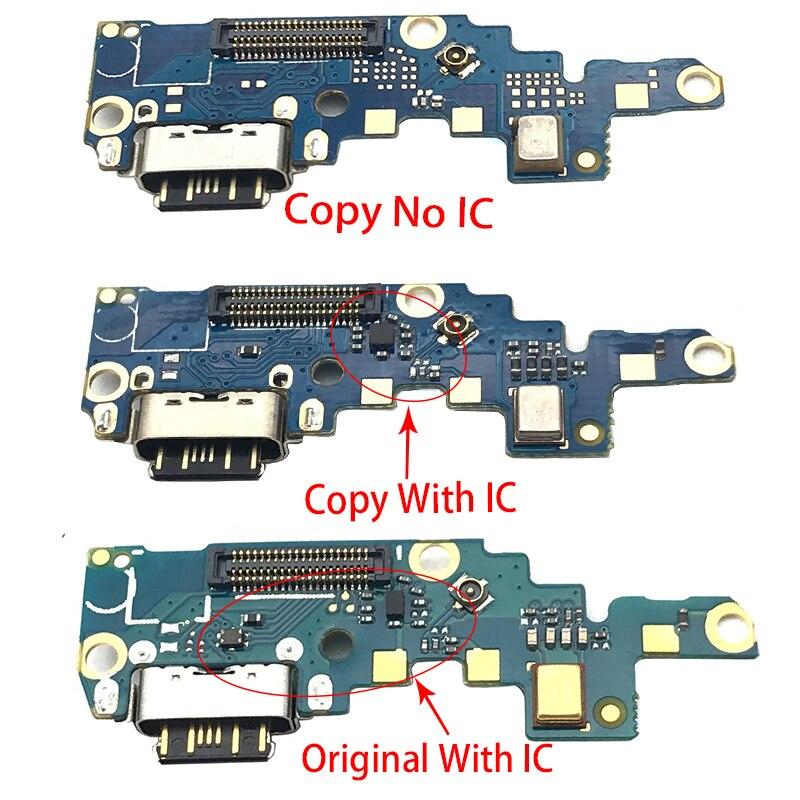 1pcs For Nokia X6/ 6.1 Plus TA-1099/1103 Type-C USB Charger Charging Port Dock Connector Flex Cable Repair Parts