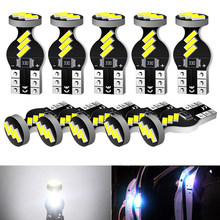 10Pcs W5W T10 LED Canbus Bulb For Mercedes W203 W205 W204 W211 W212 Car Interior Dome Light Trunk Lamp Parking Lamps Error Free