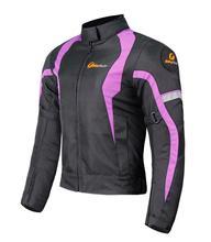 купить Women Motorcycle Jacket Waterproof  Warm Winter Touring Motorbike Motocross Clothing Protective Gear Moto Racing Jacket дешево