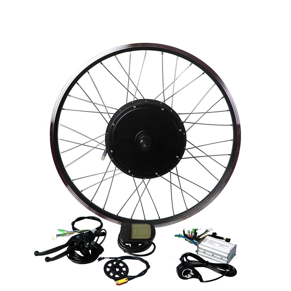 EUNORAU 48V1000W 26''27.5 ''28'' vorne/hinten rad hub motor elektrische bike kit günstige Ebike Conversion Kit kostenloser versand