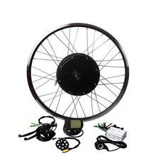 """EUNORAU kit de motorisation de vélo électrique 48v 1000w, 26, 27,5 """", 28"""", avec vis avant/arrière, livraison gratuite"""