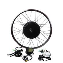 Eunorau 48V1000W 2627。5 28 フロント/リアネジフリーホイールハブモーター電動自転車キット格安電動自転車変換キット送料無料