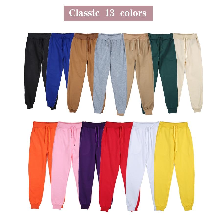 Джоггеры, женские повседневные брюки, 13 цветов 1