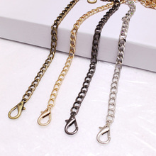 Silver Bag Chain Bag-Accessories Chains-Shoulder-Bag-Strap Handles Diy Purse Gold New