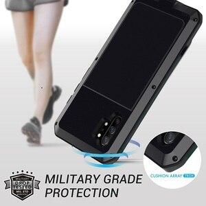 Image 3 - Pancerz 360 pełna obudowa ochronna do Samsung Galaxy S20 Ultra note 10 plus obudowa metalowa do samsung S10 Plus S10e obudowa odporna na wstrząsy Coque