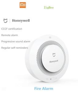 Image 2 - Xiaomi Mijia Honeywell Fire Alarm Detector, Zigbee Remote Control Audible And Visual Alarm Notication Work with Mihome APP