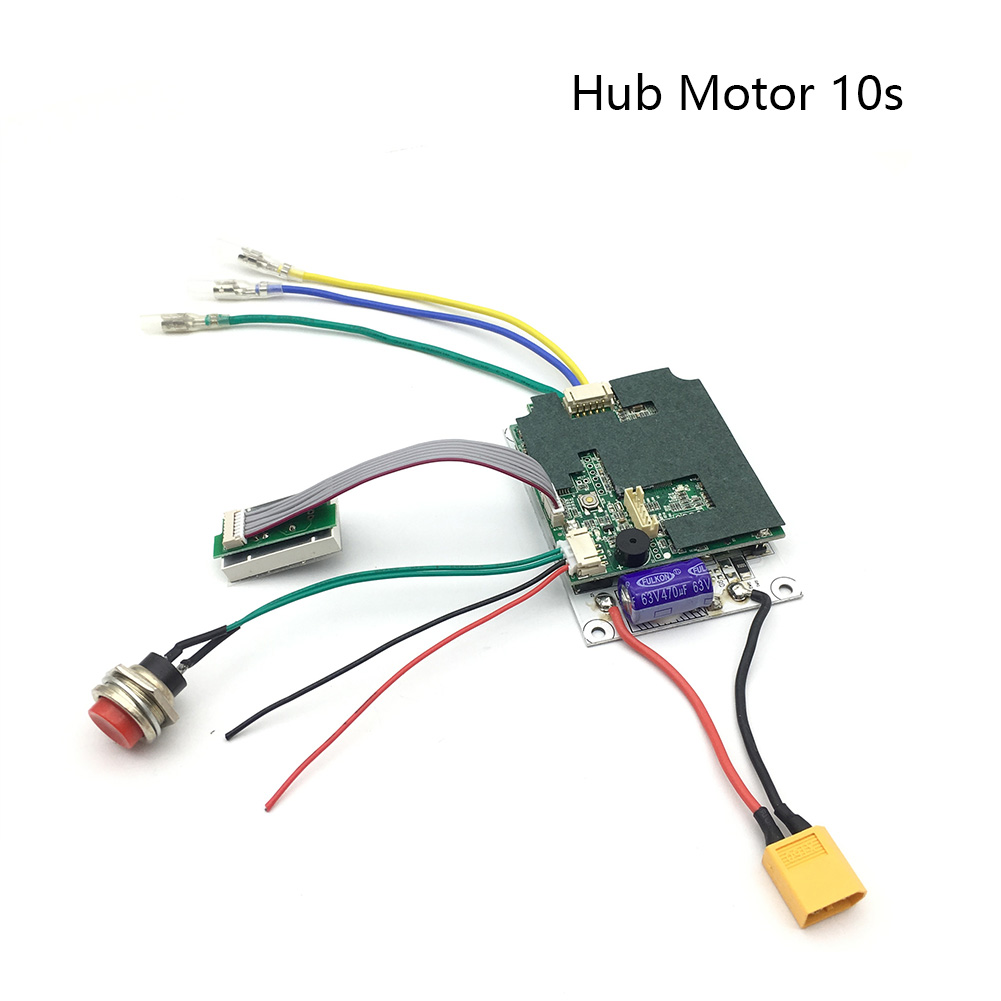 Protection Board Practical Hub Electric Scooter Use Durable Single Motor Replacement Accessories Wireless Remote Controller Set