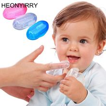 Brush Healthy Kids Massager Finger-Toothbrush Cleaning-Tool Rubber Teeth Soft-Silicone
