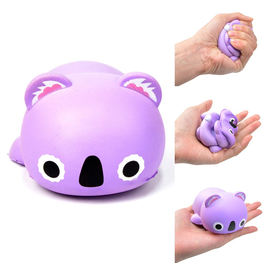 Koala Animal Squishies Super Slow Rising Scented Stress Reliever Anti-stress Squash Toy Squeeze Stress Reliever Kids Toy Decor