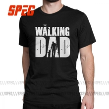 Funny Tees T-Shirt men TWD Daddy Best Dad Walking Dad Clothing Gift Original Casual Cotton
