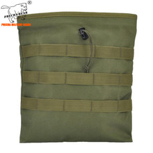 Outdoor Jacht Dump Pouch War Game Tactical Ammo Pouch Molle Systeem Militaire Riem Pouch Grote Size Army Magazine Pouch Paintball(China)