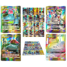 TOMY – Lot de 120 cartes Pokemon avec 80tag team 20mega 20 ultra beast Gx