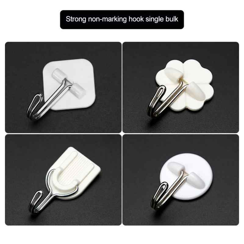 Hooks for Bathroom Self Adhesive Door Wall Hook Hanger Suction Cup for Kitchen