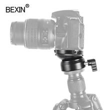 BEXIN translation leveling base tripod head camera stand adjustment head, with bubble level, for SLR camera tripod tripod head