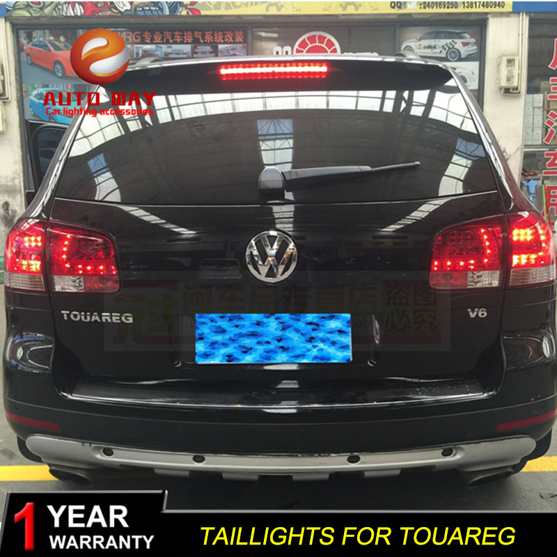 Car Styling Tail Lamp Case For Volkswagen VW Touareg 2003-2010 Touareg Taillights LED Touareg Taillight Rear Lamp LED Taillights