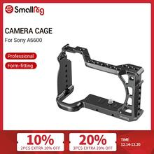 SmallRig A6600 Camera Cage for Sony A6600 Dslr Cage With Cold Shoe and Arri Locating Holes Tripod Shooting Cage Accessory  2493
